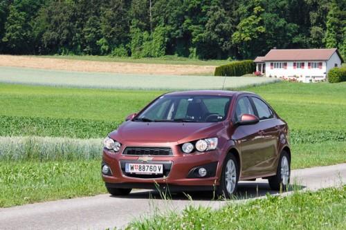 Новый Chevrolet Aveo - седан, цена от 444 000 руб.