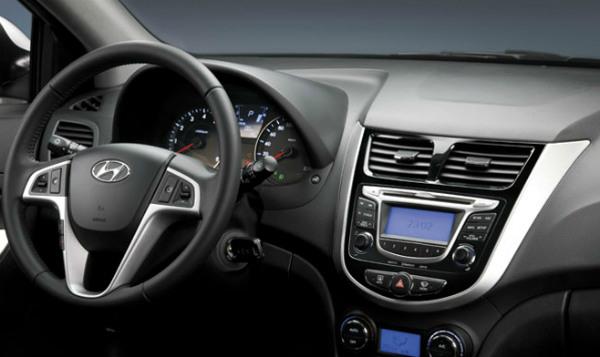 Hyundai Solaris - один из лучших интерьеров 2012 года
