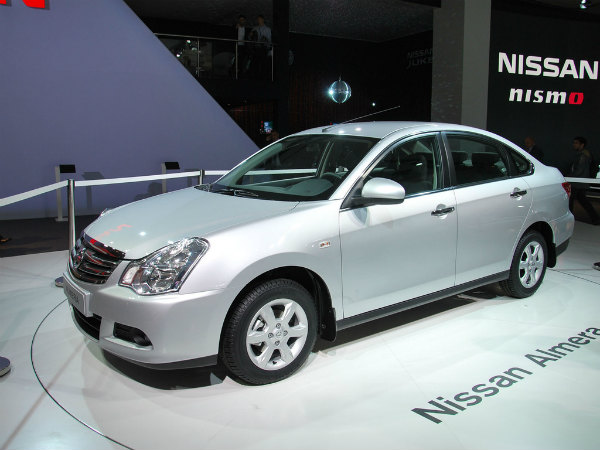 Новый Nissan Almera появится в продаже в 2013 году