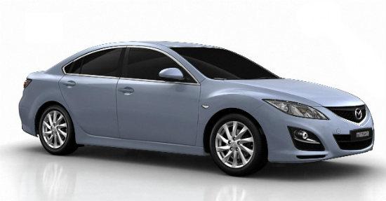 Mazda 6 - самая угоняемая машина первого полугодия 2012 года