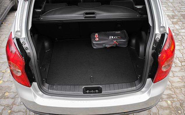 Объем багажного отделения кроссовера Actyon – 486 литров