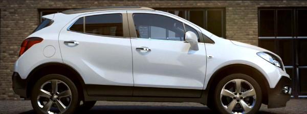 Opel Mokka белый