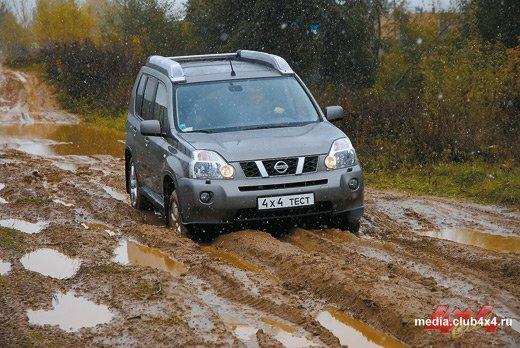Проходимость Nissan X-Trail