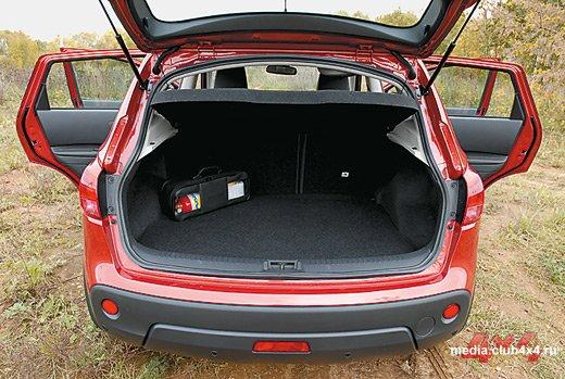 Багажник Nissan Qashkai