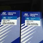 Замена салонного фильтра в Hyundai Accent