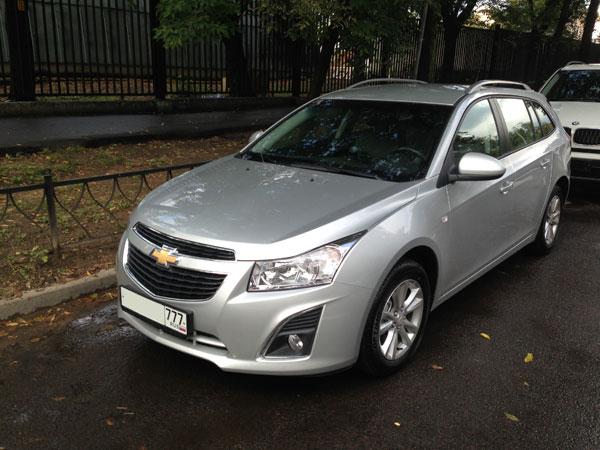 Chevrolet Cruze SW (универсал) - первые впечателения