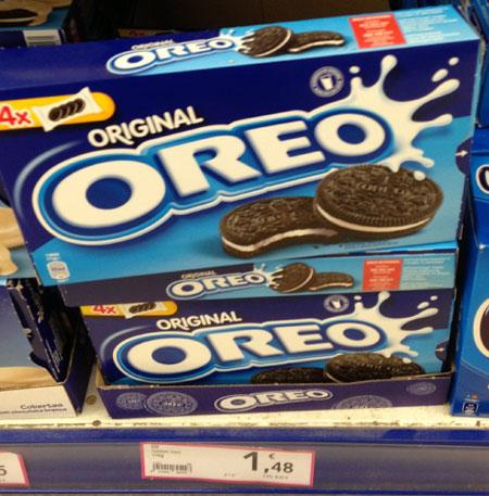 Печеньки Oreo - для любителей сладкого