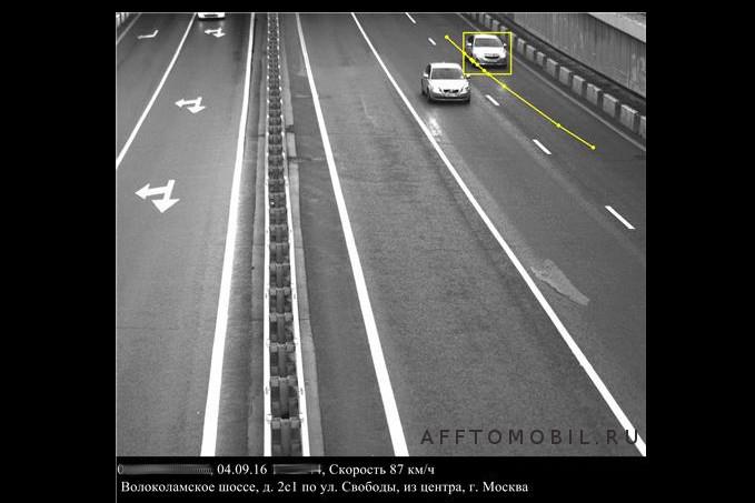 Камера с ограничением 60 км/ч Волоколамское шоссе д.2, стр.1 по улице Свободы