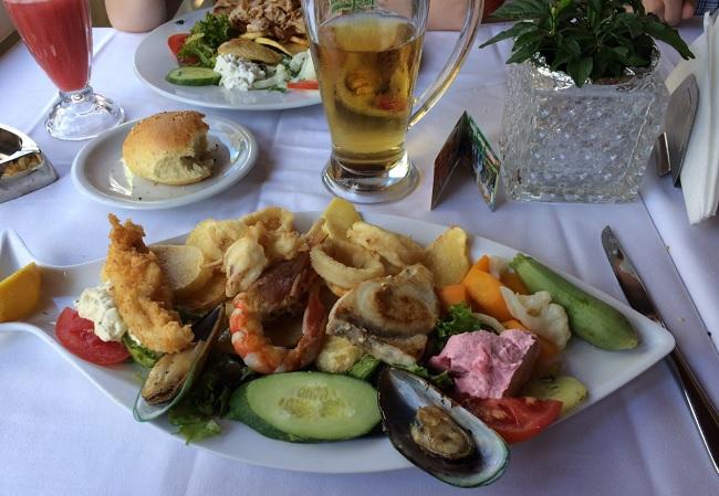 Еда на острове Крит