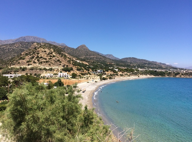 Пляжи на Крите очень красивые