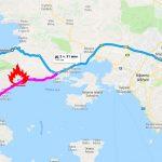 Объездная секретная дорога из Пелопоннеса в Афины