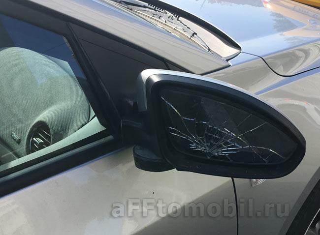 Разбили зеркало Chevrolet Cruze