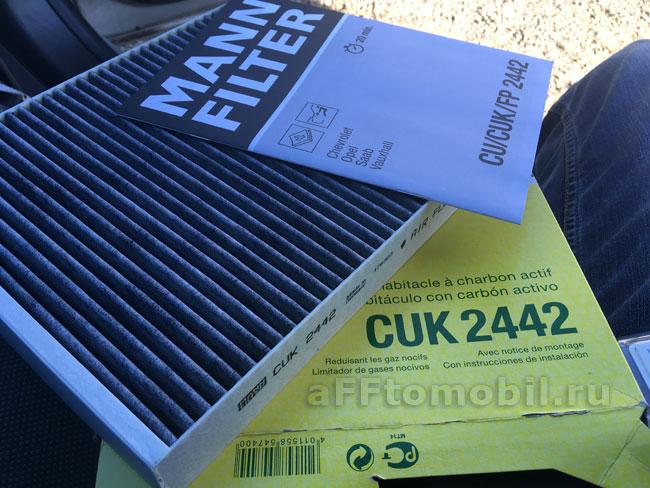 Сравнение воздушного фильтра Mann и Filtron