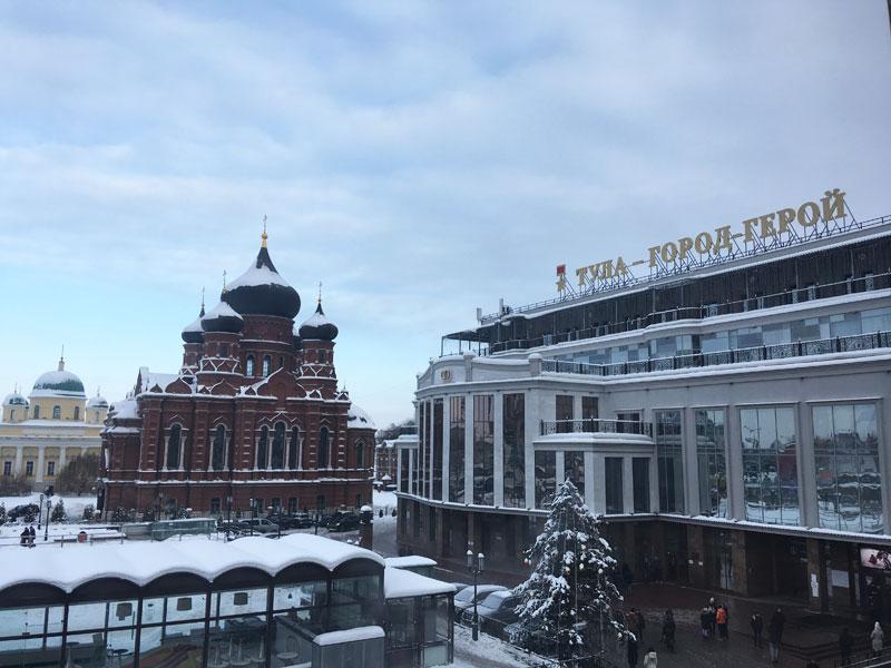 На машине в Тулу из Москвы. Отчет