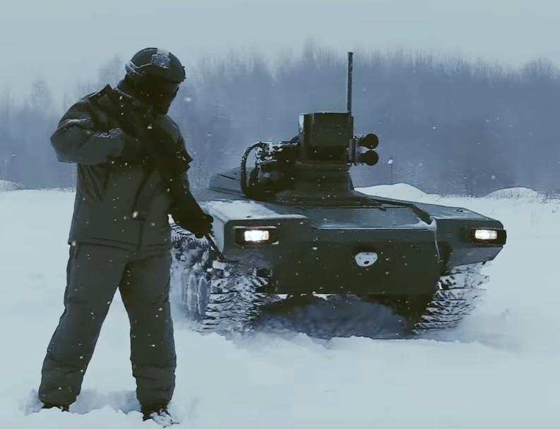 Робот - пулемёт с моторчиком Маркер