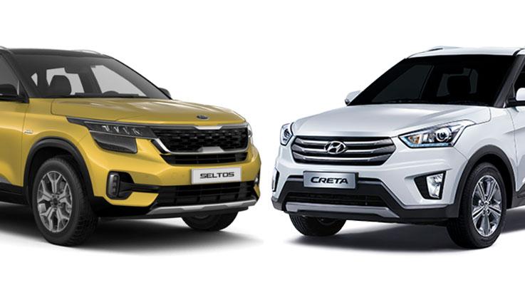 Kia Seltos отличается от Hyundai Creta!