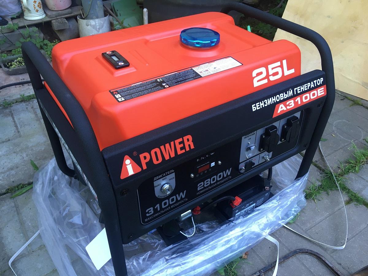 Бензиновый генератор A-ipower-a3100e